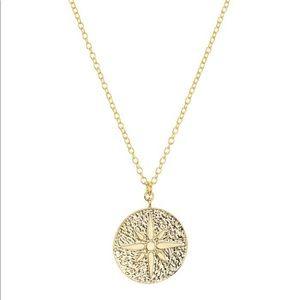 Argento Vivo North Star Medallion Pendant Necklace